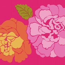 Marimekko Kaneliruusu pinkki 24 cm