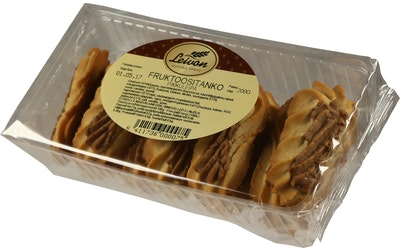 Leivon fruktoositanko pikkuleipä 200g