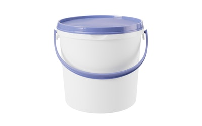 GastroMax säilöntäsanko 5l valkoinen/sininen