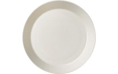 Teema lautanen 17 cm valkoinen