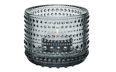 Iittala Kastehelmi kynttilälyhty 64mm harmaa
