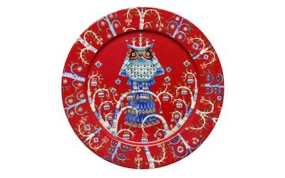 Iittala Taika lautanen 27cm punainen