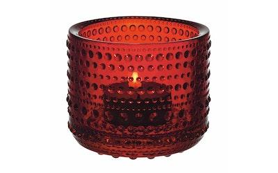 Iittala Kastehelmi kynttilälyhty 64 mm karpalo