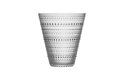 Iittala Kastehelmi maljakko 154mm kirkas