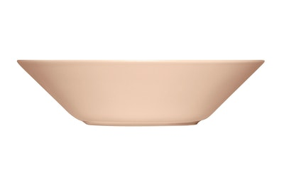Iittala Teema lautanen syvä 21 cm puuteri