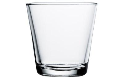 Iittala Kartio juomalasi 21 cl kirkas 2 kpl