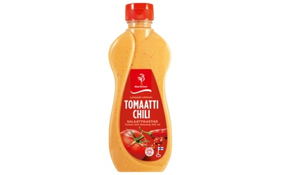 Saarioisen tomaatti-chili salaattikastikastike 345ml