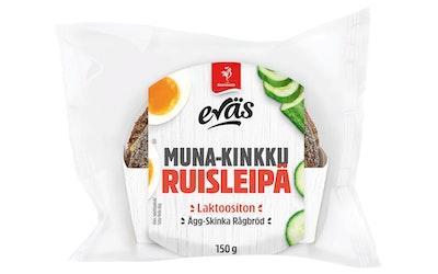 Saarioinen Eväs muna-kinkku ruisleipä 150g
