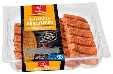 Saarioinen grillitassu 4kpl/300g juusto