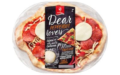 Saarioinen Pepperoni-mozzarella tuorepizza 350g