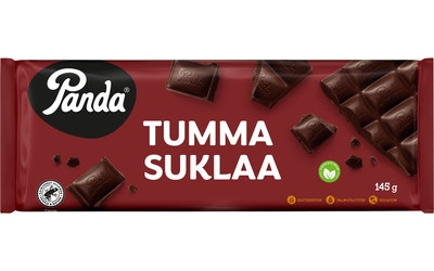 Panda suklaa 145g tumma suklaa utz