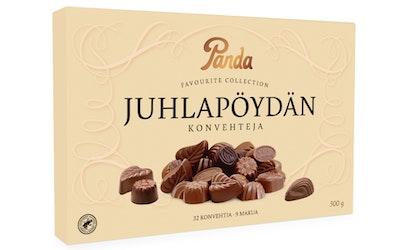 Panda Juhlapöydän Konvehteja suklaakonvehteja 300g