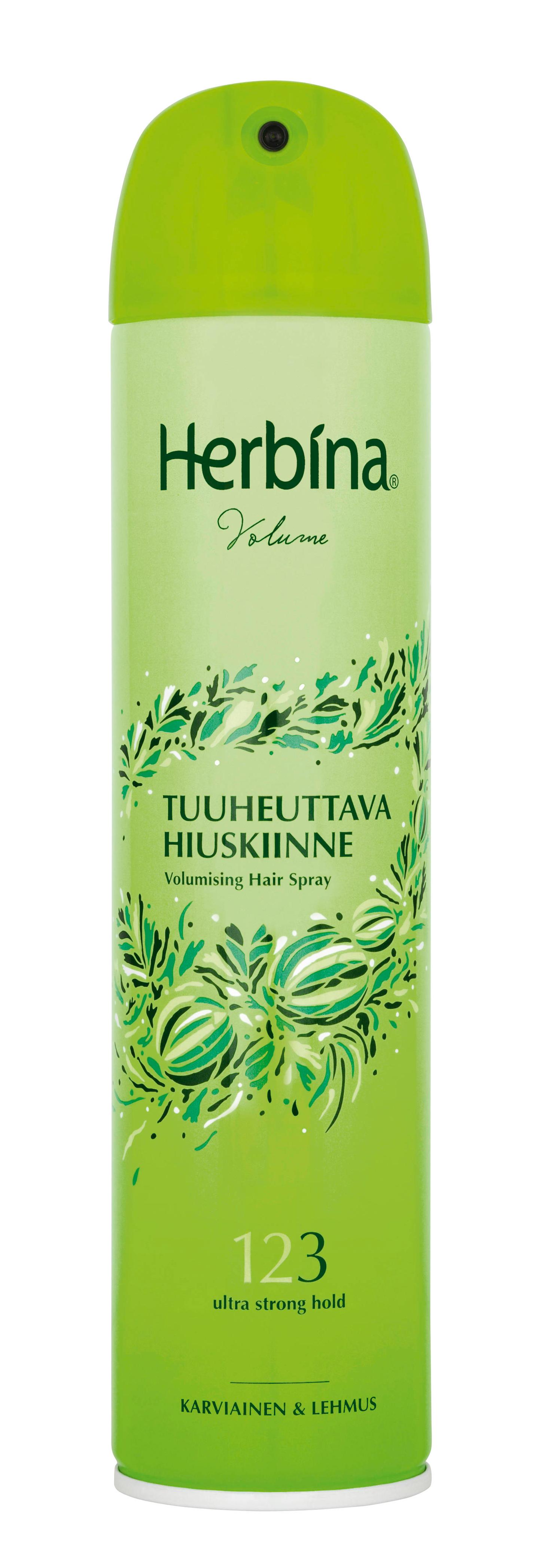 Herbina Volume hiuskiinne 250ml – K-Ruoka cdd5596e0e