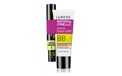 Lumene Natural Code BB-Voide 40ml + Dual Booster Mascara 9ml yhteispakkaus
