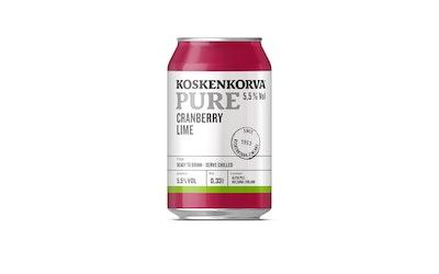 Koskenkorva cranberry 5,5% 0,33l