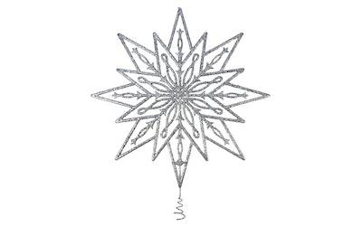 Weiste filigraani latvatähti 25 cm hopea