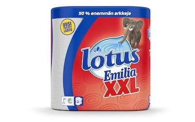Lotus Emilia XXL 2 rll talouspyyhe