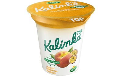 Ingman kalinka top persikka-passionkerrosjogurtti 150g vähälaktoosinen