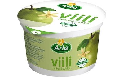 Arla Päärynä-vaniljaviili 200g laktoositon