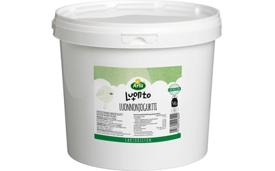 Arla Luonto+ 5 kg laktoositon maustamaton Asidofilus-Bifidus luonnonjogurtti