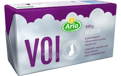 Arla lisäaineeton vähemmän suolaa meijerivoi 500g laktoositon