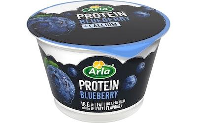 Arla Protein proteiinirahka 200g mustikka rasvaton laktoositon