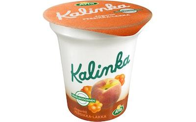 Arla kalinka persikka-lakka kerrosjogurtti 150g vähälaktoosinen
