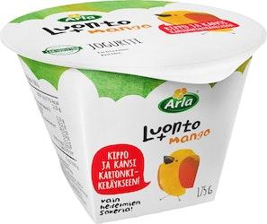 Arla Luonto+ jogurtti 175g mango