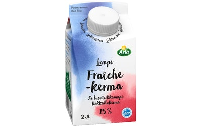 Arla Lempi Fraiche kerma 15% 2dl laktoositon