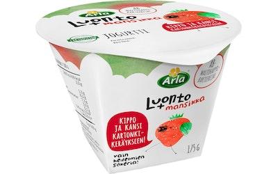 Arla Luonto+ AB jogurtti 175g mansikka laktoositon