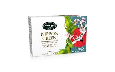 Nordqvist Nippon Green 4x5pss/30g vihreä maustettu pussitee