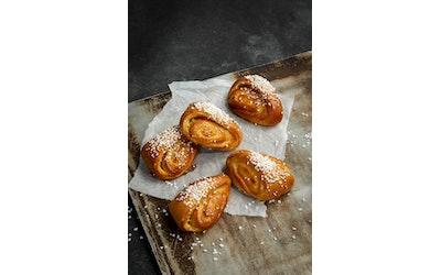 Omasta jauholeipomosta Vanhan ajan vaniljapulla 5 kpl