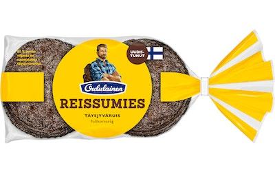 Oululainen Reissumies täysjyväruisleipä 355g