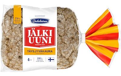Oululainen täysjyväkaurajälkiuunileipä 4kpl/240g