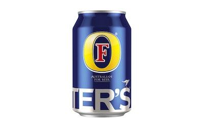 Fosters olut 4,5% 0,33l  tlk SI