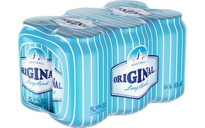 Hartwall Original Long Drink 5,5% 6x0,33 l tölkki