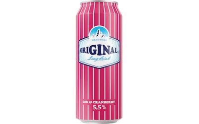Original Cranberry long drink 5,5% 0,5l