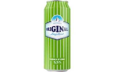 Original Vodka-Lime long drink 5,5% 0,5l