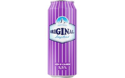Original Cassis Long Drink 5,5% 0,5l