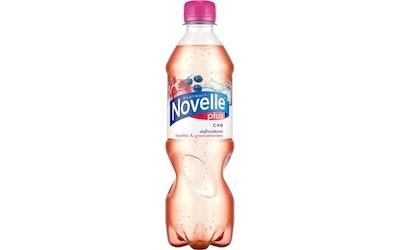 Novelle Plus C+E mustikka-granaattiomena 0,5l
