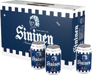 Sininen olut 3,5% 0,33l 24-pack