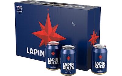Lapin Kulta 4,5% 0,33l tlk 24-pack LAVA