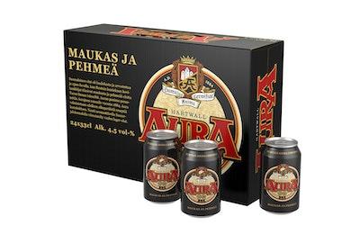Hartwall Aura 4,5% olut 0,33l
