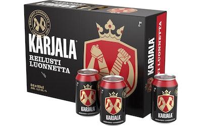 Karjala olut 4,5% 0,33l 24-pack