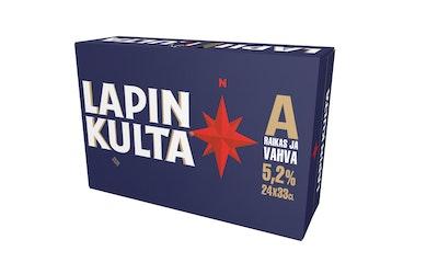 Lapin Kulta 5,2% 0,33l 24-pack