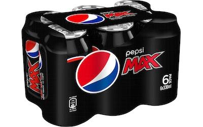Pepsi Max 0,33L tlk 6-pack