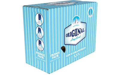 Hartwall Original long drink 5,5% 0,33 tlk 12-pack