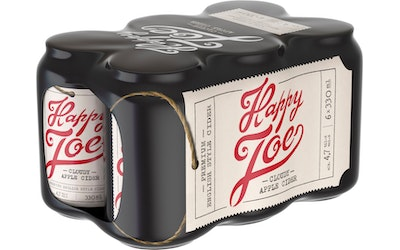 Happy Joe Cloudy Apple 4,7% 0,33l 6-pack