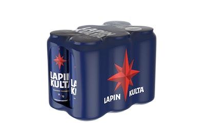 Lapin Kulta 4,5% 0,44l tlk 6-pack
