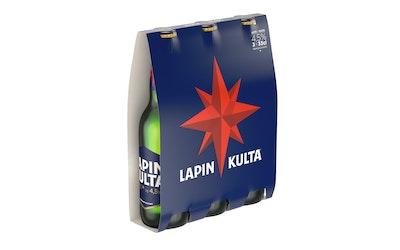 Lapin Kulta 4,5% 0,33l long nec 3-pack